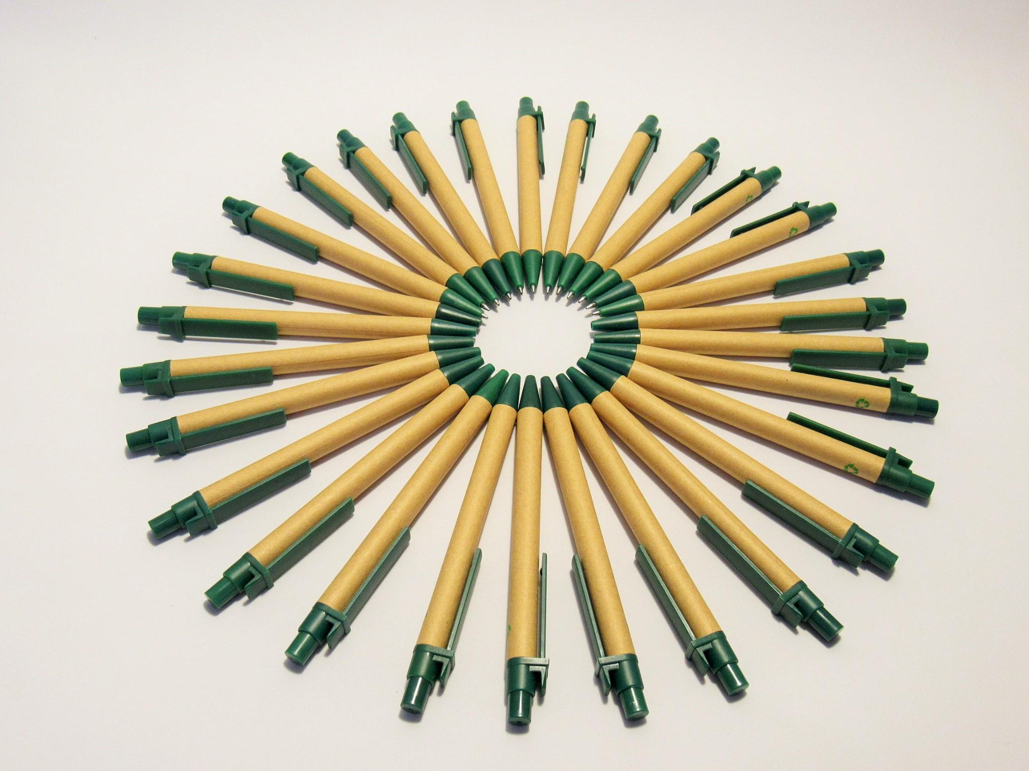 Bolígrafos ecológicos